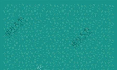 绿色树叶底纹