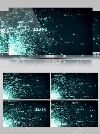 科技数据分析收集网络信息led背景