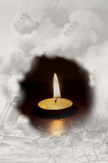 灾难祈福祈祷平面素材