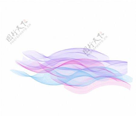 网状波浪线条