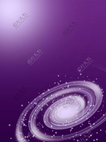 手绘星星闪耀宇宙背景