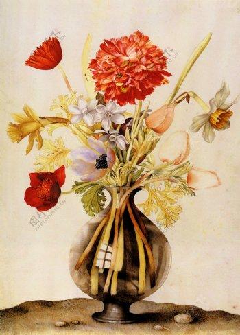 欧式风格装饰花画