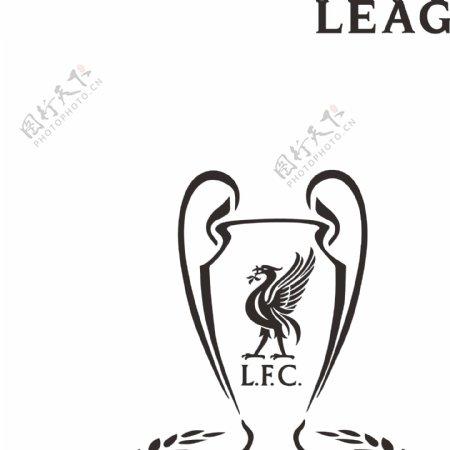 欧冠利物浦夺冠原创设计