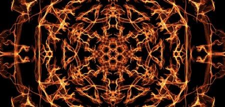 火焰背景花纹