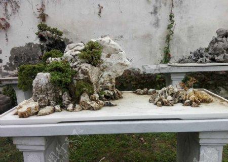 微山石景观