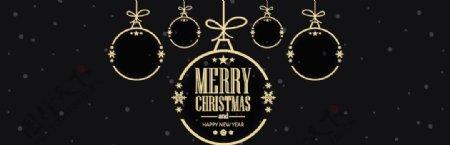 圣诞banner模板