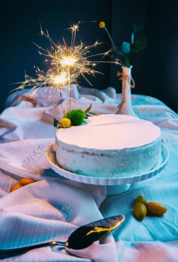 西餐蛋糕生日会