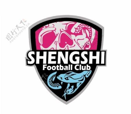 上海盛世足球俱乐部队徽