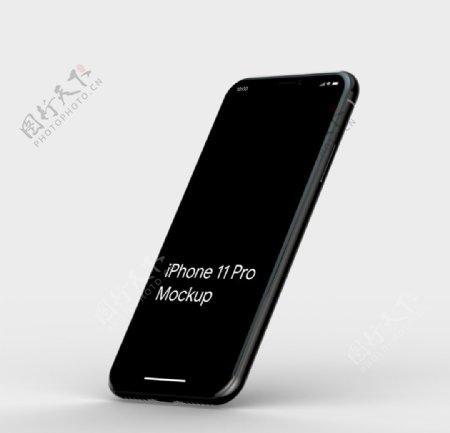 iphone手机展示效果图