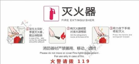 消防器材使用说明