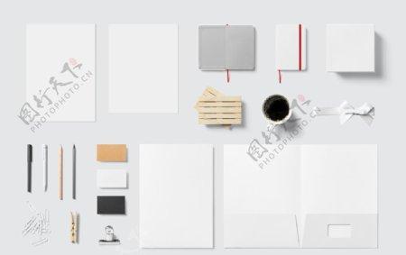 白纸笔记本