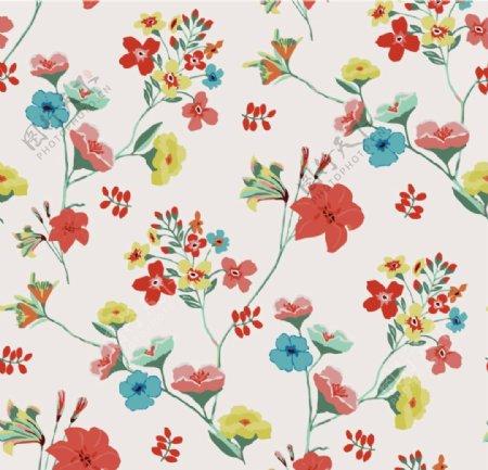 花卉四方连续