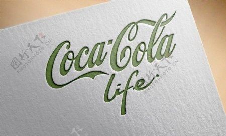 可口可乐lifelogo
