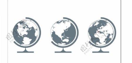 地球仪矢量