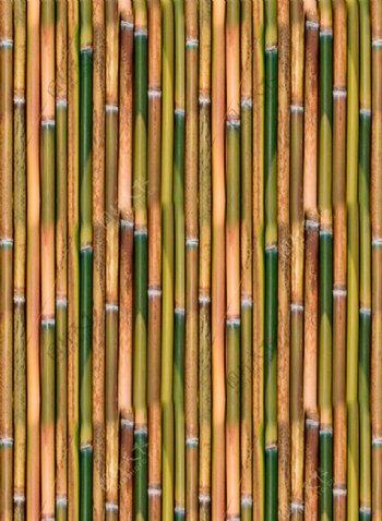 竖向平铺竹子背景素材