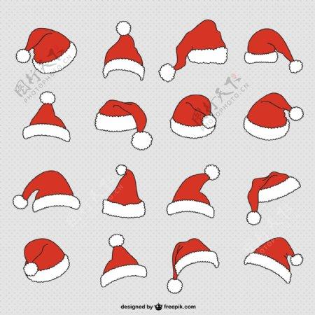 圣诞老人帽子收藏