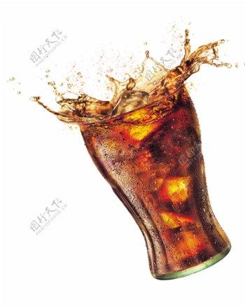 冰镇可口可乐合成图