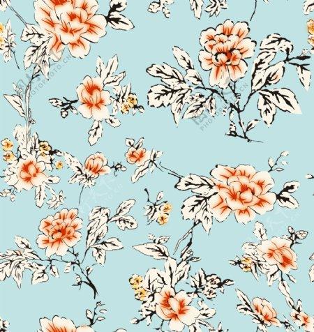 花卉小碎花手绘花