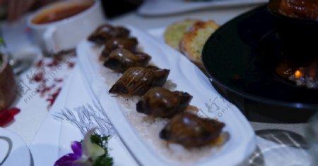 火焰蜗牛俄罗斯美食