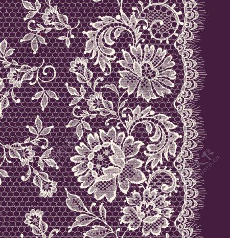 蕾丝花边花纹设计素材
