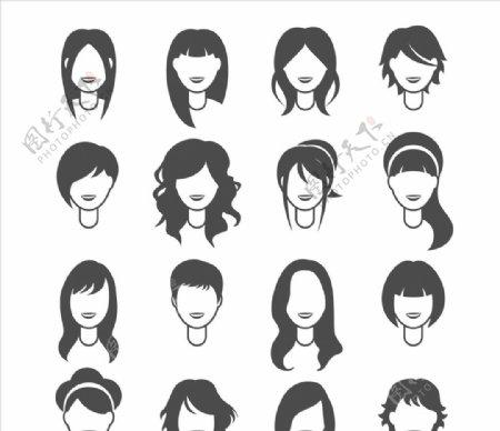 女人发型图片