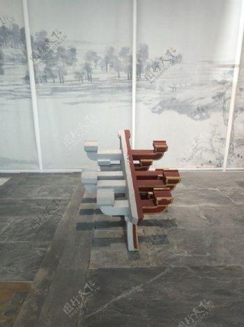 中国古建筑模型榫卯结构图片