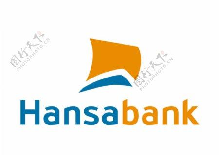 汉莎银行标志LOGO图片