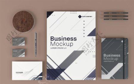 企业商务VI模板设计图片
