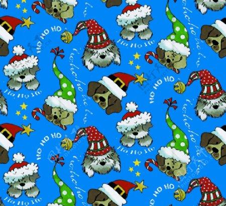 圣诞小狗图片