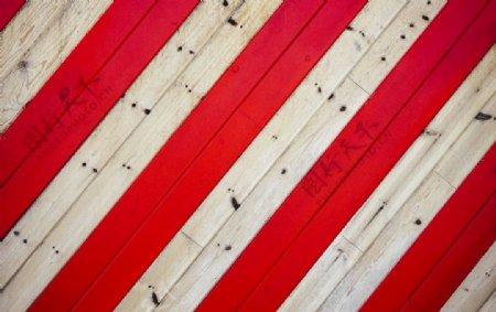 红白木板背景图片