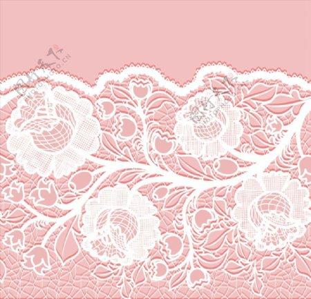 精美花卉蕾丝图片