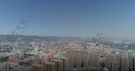 太原高楼风景航拍