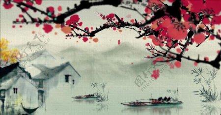 中国风江南风情