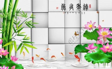 竹子背景图片