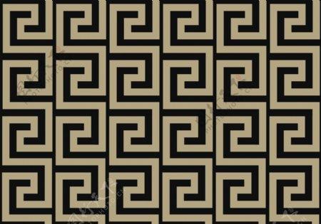 中式回字纹古代回形纹简单回形纹图片