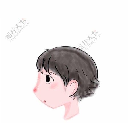 小男生头像图片