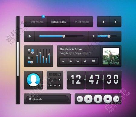 UI按钮界面图片