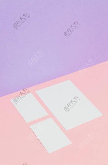 纯色纸张背景图片