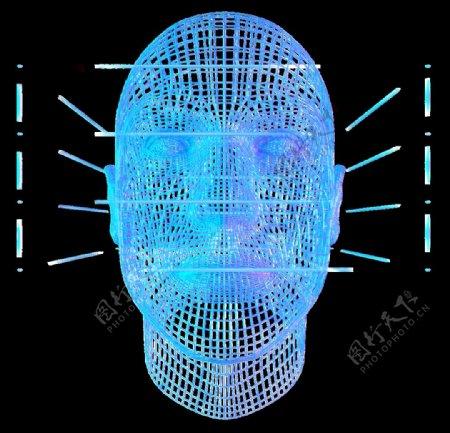 人脸识别大数据科技图片
