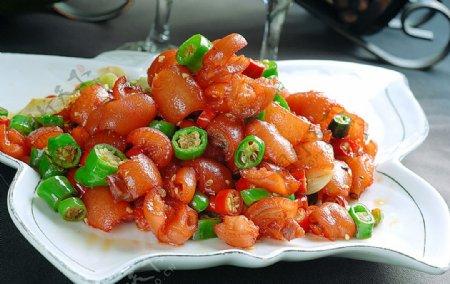 川菜美味发财手图片