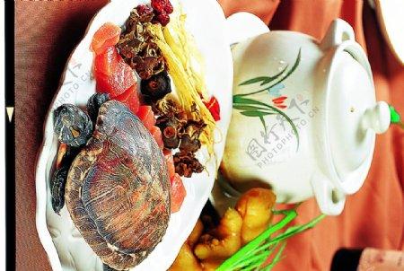 豫菜木棉花煲草龟图片