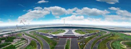 天河机场图片