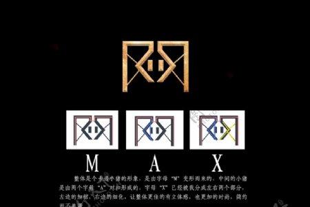 max滑板车logoM变图片