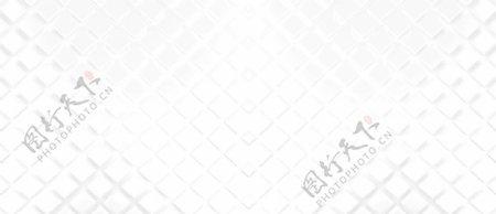 简约白色立体菱形几何平铺背景图片