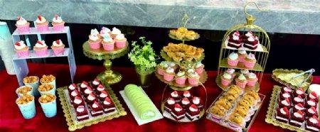 甜品台图片