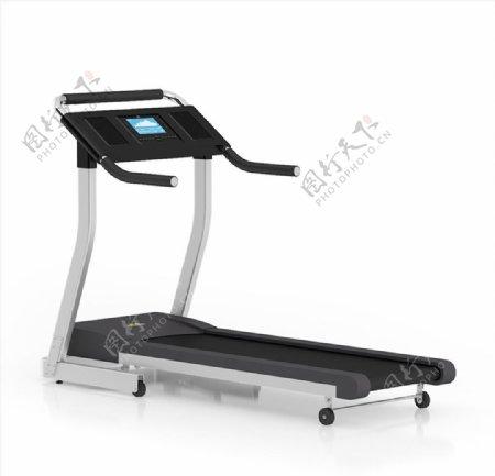 健身器材跑步机SU模型图片