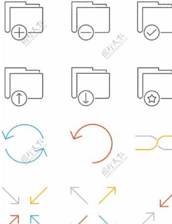 线性图标设计图片