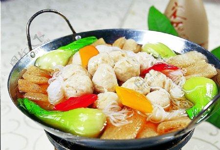 竹笋萝卜丸图片