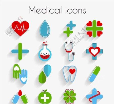 精致医疗图标图片