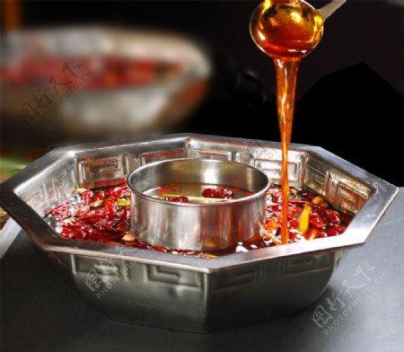 汤鸳鸯锅锅底图片